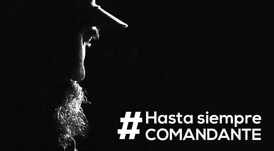 #Hasta Siempre, Comandante!