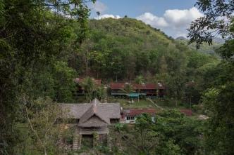 Das Hotel im Regenwald